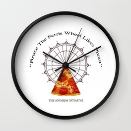 Bruce The Ferris Wheel Wall Clock