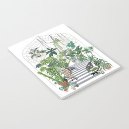 greenhouse illustration Notebook