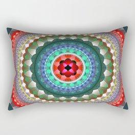 Soul and Heart Mandala Rectangular Pillow