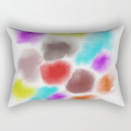 color - abstract Rectangular Pillow