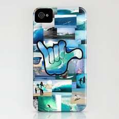 Carlyfornia Surfer iPhone (4, 4s) Slim Case