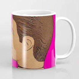 Love & Pride Gay Kiss - Gay Art! Coffee Mug
