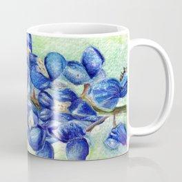 Texas Bluebonnets - Blue and green wildflower art Coffee Mug