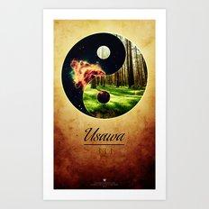Usawa Art Print