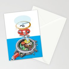 Time tunnel Stationery Cards