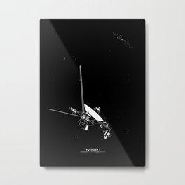 VOYAGER 1 Metal Print