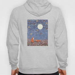 moonlit foxes Hoody