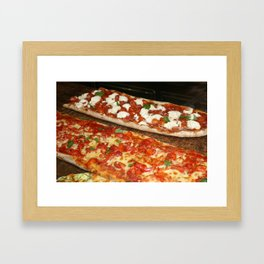 Roma Pizza Framed Art Print