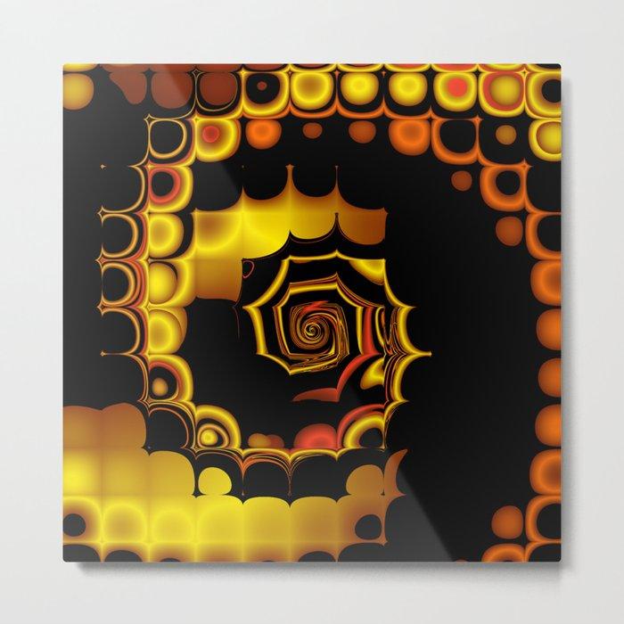 TGS Fractal Abstract 3 Metal Print