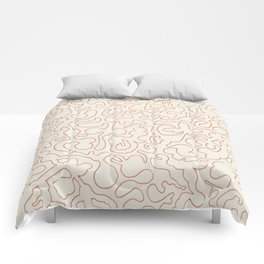 Puzzle Drawing #2 Gold Comforters