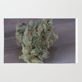 Close up macro of Dr. Who Medicinal Medical Marijuana Rug