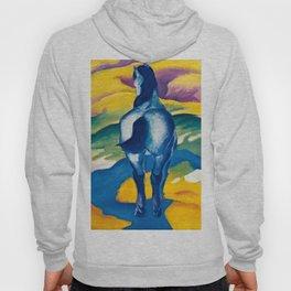 "Franz Marc ""Blue Horse II"" Hoody"