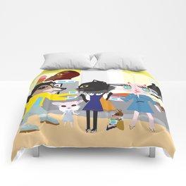 FASHIONISTA CAT Ice Cream Comforters