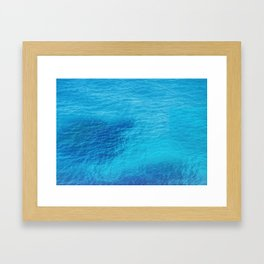 Bluest Blue Framed Art Print