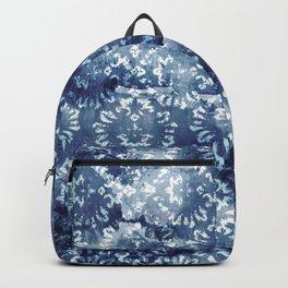 Indigo Batik Abstract Backpack
