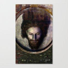 Fatale - John - Rust Canvas Print