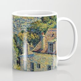 Hill of Montmartre overlooking Paris by Maximilian Luce Coffee Mug