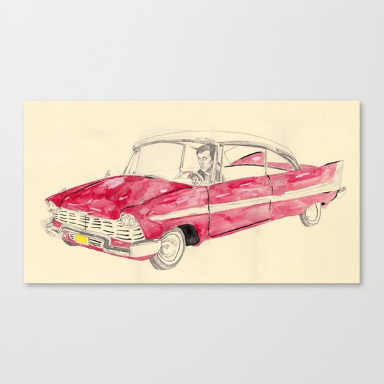 Christine  Canvas Print