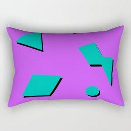 Pop Tart 90s Pattern Rectangular Pillow