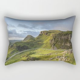 Sunrise Over the Quiraing Rectangular Pillow