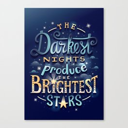 Brightest Stars Canvas Print