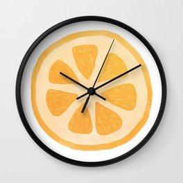 Kumquat Wall Clock