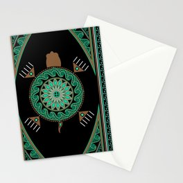Green Turtle Stationery Cards