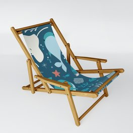 Sea creatures 004 Sling Chair