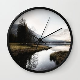 Mountain river 2 Wall Clock