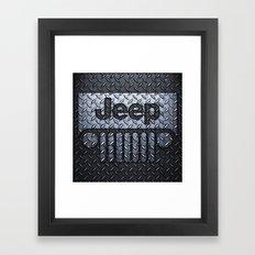 jeep logo Framed Art Print