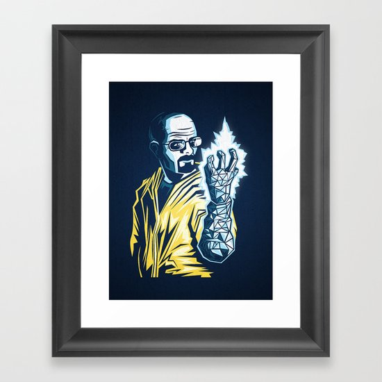 The Iceman Cometh Framed Art Print