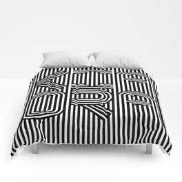 KiaOra New Zealand Greeting (Square) Comforters