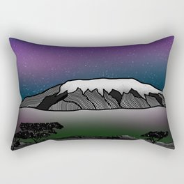 Mount Kilimanjaro Rectangular Pillow