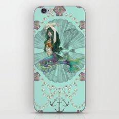 Mermaid Deco iPhone & iPod Skin