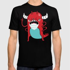 Monster Nagging Mens Fitted Tee LARGE Black