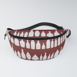 Bottles Red Fanny Pack