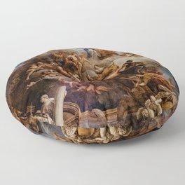 Palace of Versailles Mural - Michelangelo Floor Pillow