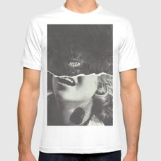 Canines Mens Fitted Tee White MEDIUM