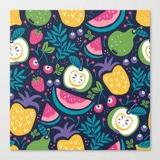 Hello Fruity Canvas Print