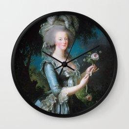 Marie-Antoinette Wall Clock