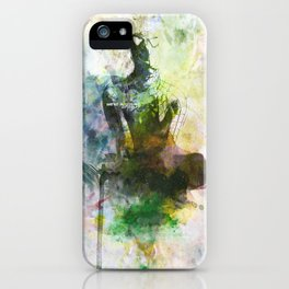 Even heroes are made iPhone Case