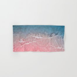 Bahamas pink blue Hand & Bath Towel