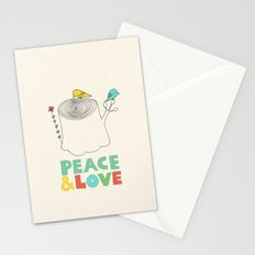 Peace & Love Stationery Cards