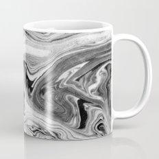 Mizuki - spilled ink marbling paper marble swirl abstract painting original art india ink minimal Mug