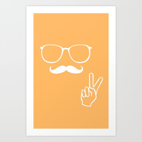 Man of Peace Art Print