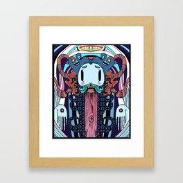 Tentacle Jesus is Complicated  Framed Art Print