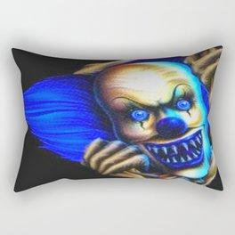 Evil Clown Rectangular Pillow