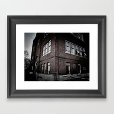 Brick By Boring Brick Framed Art Print