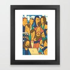 Pied Piper Framed Art Print