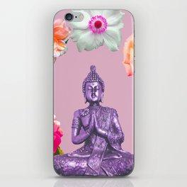 Lavender Buddha iPhone Skin